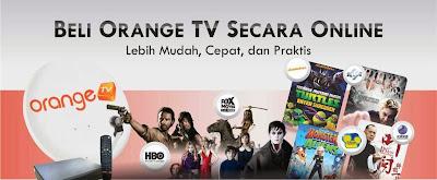 Cara Berlangganan Orange TV