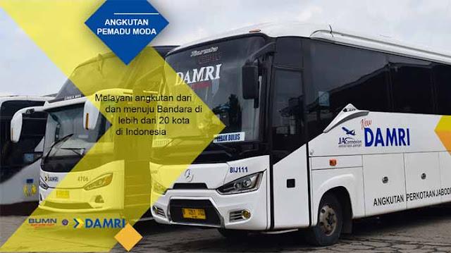 Harga Tiket Damri Jakarta Lampung 2019