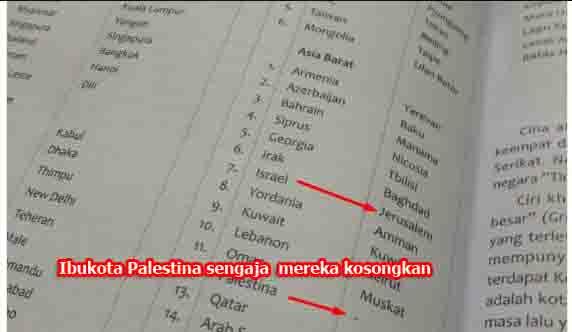 """Penyesatan Memalukan Buku IPS Tulis """"Yerusalem Ibu Kota Israel"""", KPAI Panggil Penerbit Yudistira"""