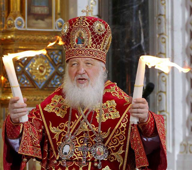 É do interesse da 'nova Rússia' que o Patriarca de Moscou seja tido como chefe máximo dos cismáticos 'ortodoxos'