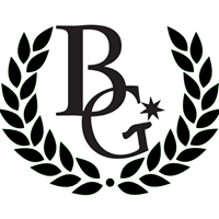 image BrandGear  logo B G with stars and laurel wreath