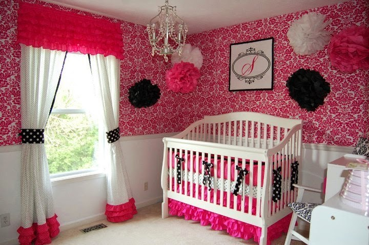 wall color for baby girl room