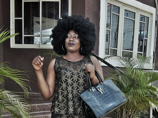 Nigerian Brands: Cresita Clothings Black/Gold Two-Piece