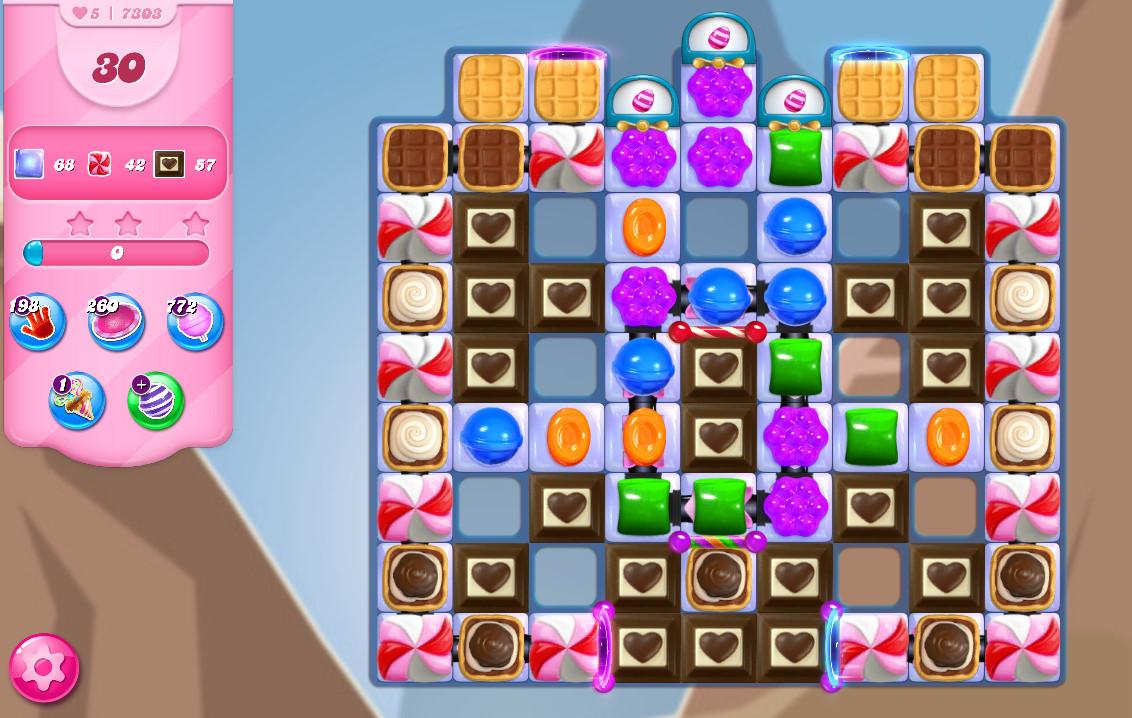 Candy Crush Saga level 7303