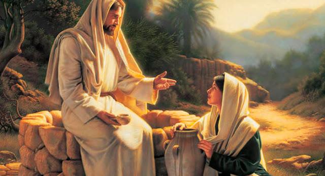 Histórias Bíblicas - Jesus e A Mulher Samaritana