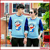 AKC267S55 Sweater Couple Doraemon Anak 267S55 Pasangan Music BMGShop