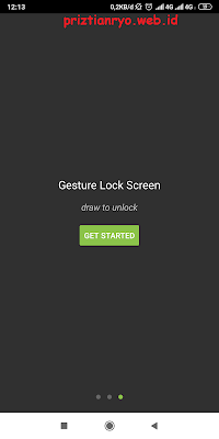 Cara Membuat Pola Lock Screen Bintang
