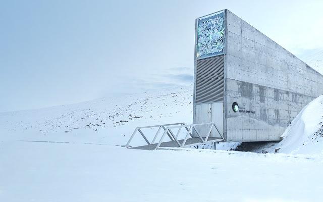 Visitiamo l'interno dello Svalbard Seed Vault
