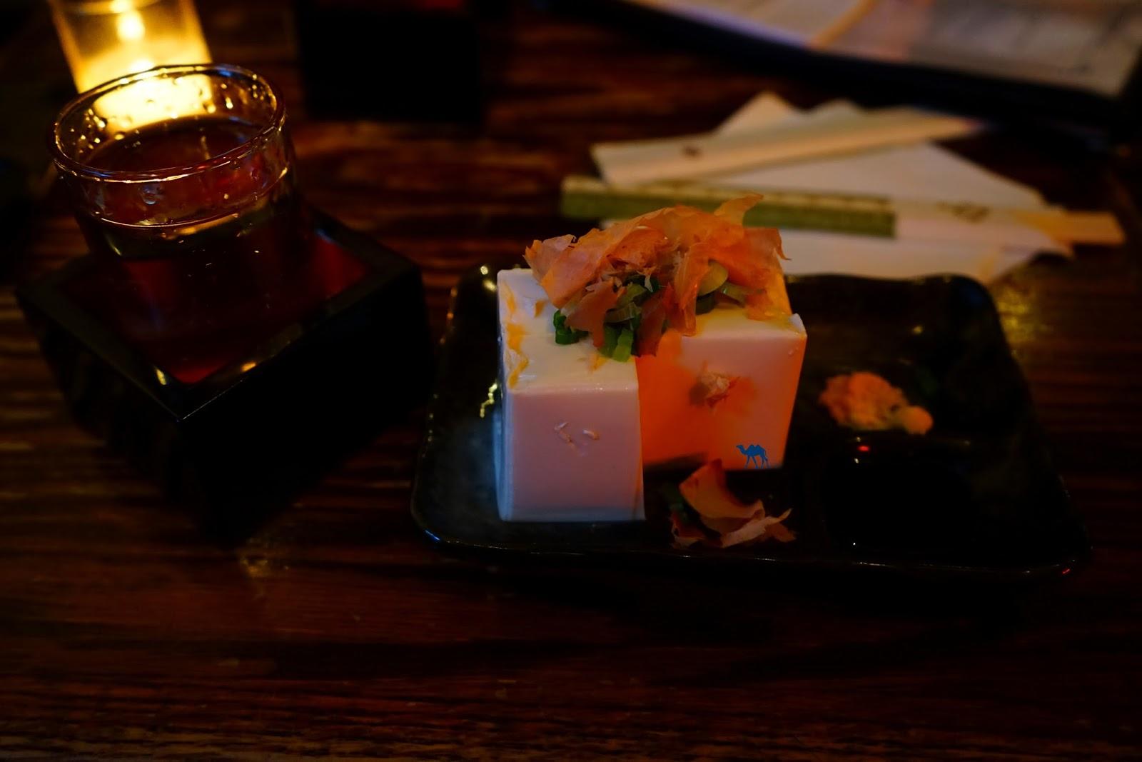 Tofu et Bonite - Le Chameau Bleu Izakaya Japonais à New York - Blog Voyage New York City USA