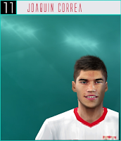PES 6 Faces Joaquin Correa by Dewatupai
