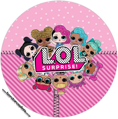 image regarding Printable Cupcake identified as LOL Marvel Free of charge Printable Cupcake Wrapper and Toppers
