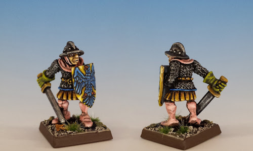 Talisman Soldier, Citadel Miniatures (sculpted by Aly Morrison, 1986)