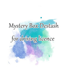 Mystery Box Destash for driving licence.