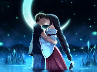 romantic-boy-hugging-kisses-his-lover-girl-at-night-moon-BG-in-pond-water-image-anime.jpg