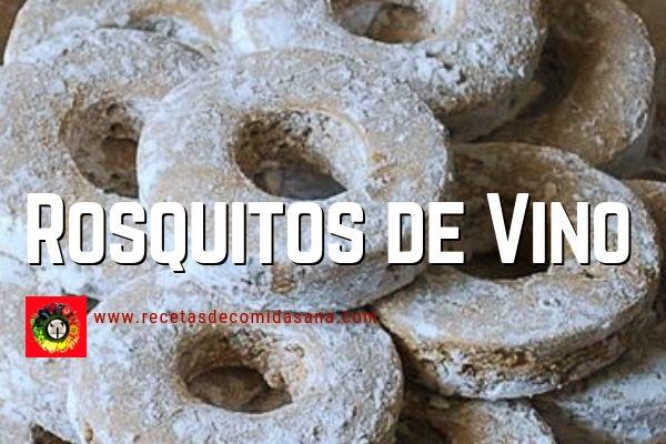 Receta de Rosquitos de Vino con Vino Blanco y Semillas de Ajonjolí