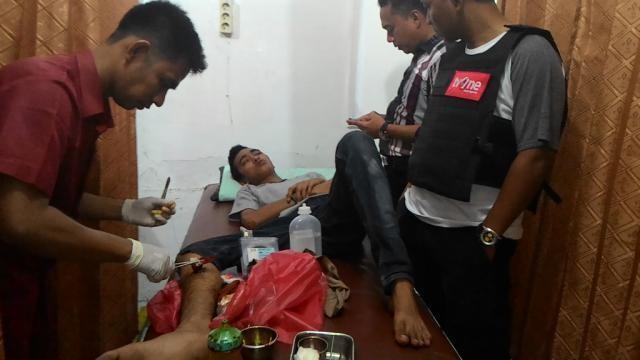 Kesal Dibilang Ompong, Seorang Pemuda Nekat Bunuh Temannya Di Pekan Baru.