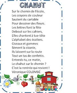 Image48 - DES POESIES POUR LA RENTREE ! Thèmes : l'école – les lettres – écrire