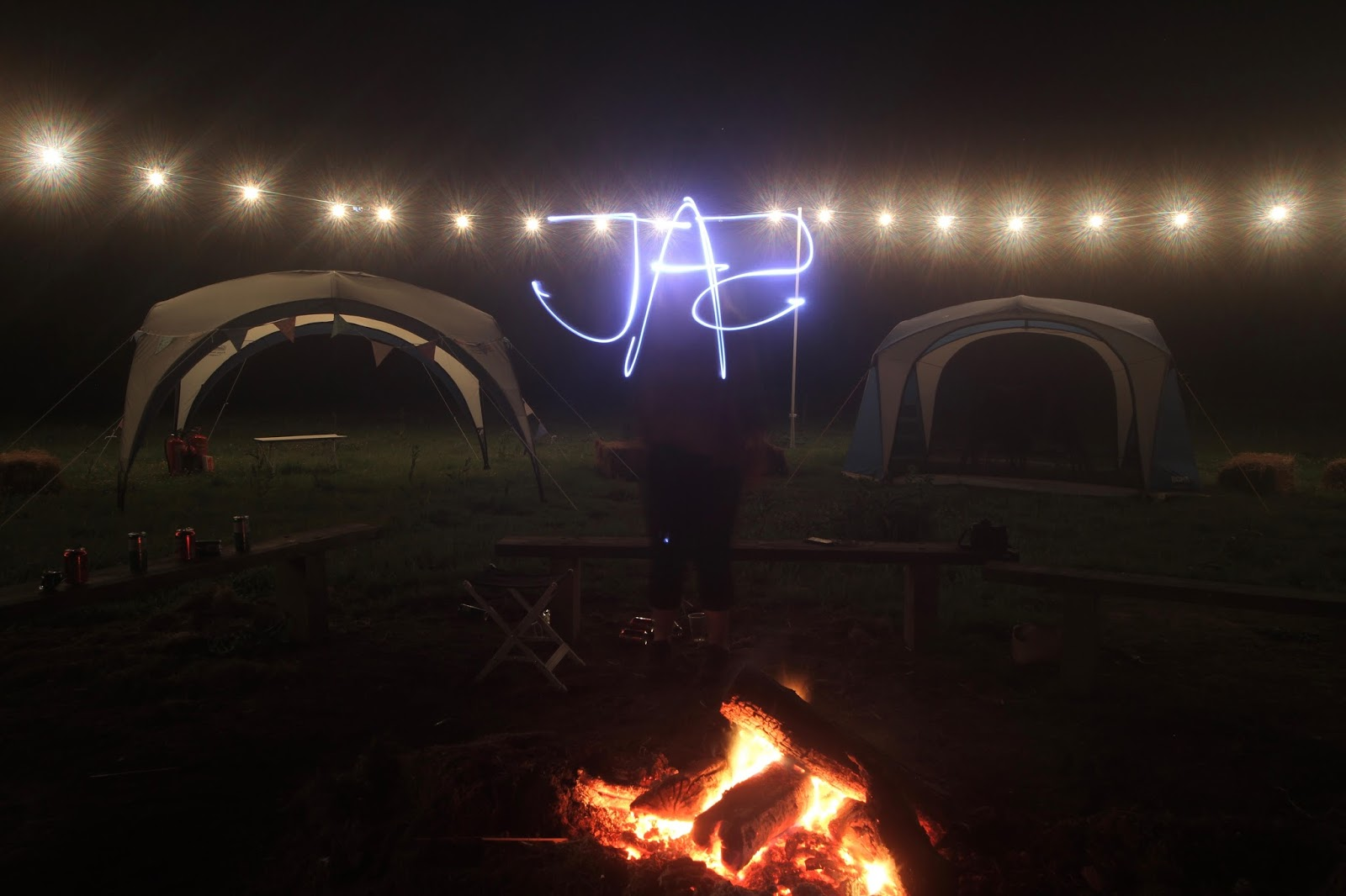 """finally seeing my name """"Jaz"""" in lights"""