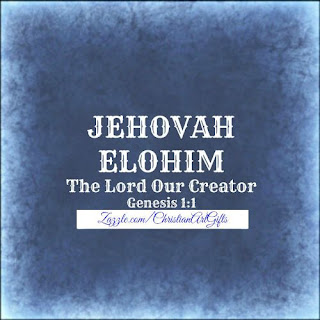 Jehovah Elohim from Genesis 1:1 which is The Lord our Creator.