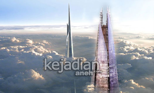 Gedung Tertinggi di Dunia Milik Arab Saudi yang Menembus Awan