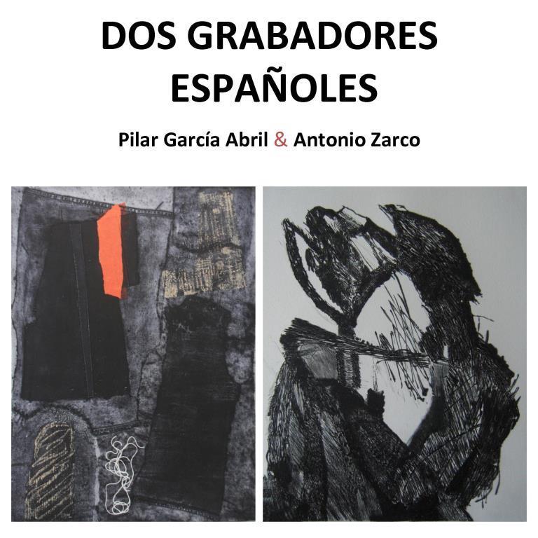 Dos grabadores españoles – Pilar García Abril y Antonio Zarco