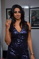 Sanjana looks happy in sparkling short Deep neck Purple Gown ~  Exclusive 40.JPG