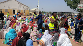 Bama IDPs camp