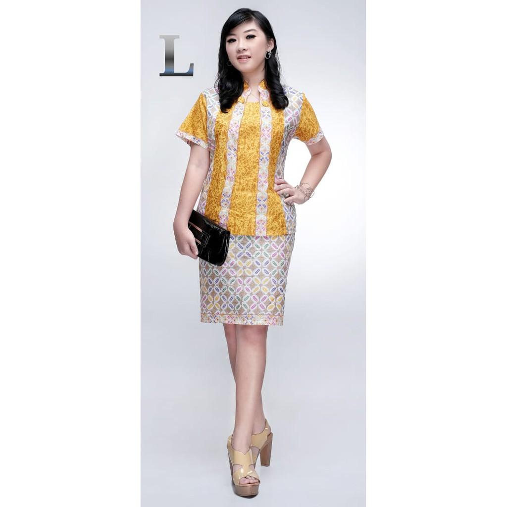 Batik RnB Batik Wanita Cempaka Kawung