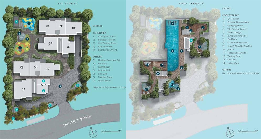 Casa Al Mare Site Plan
