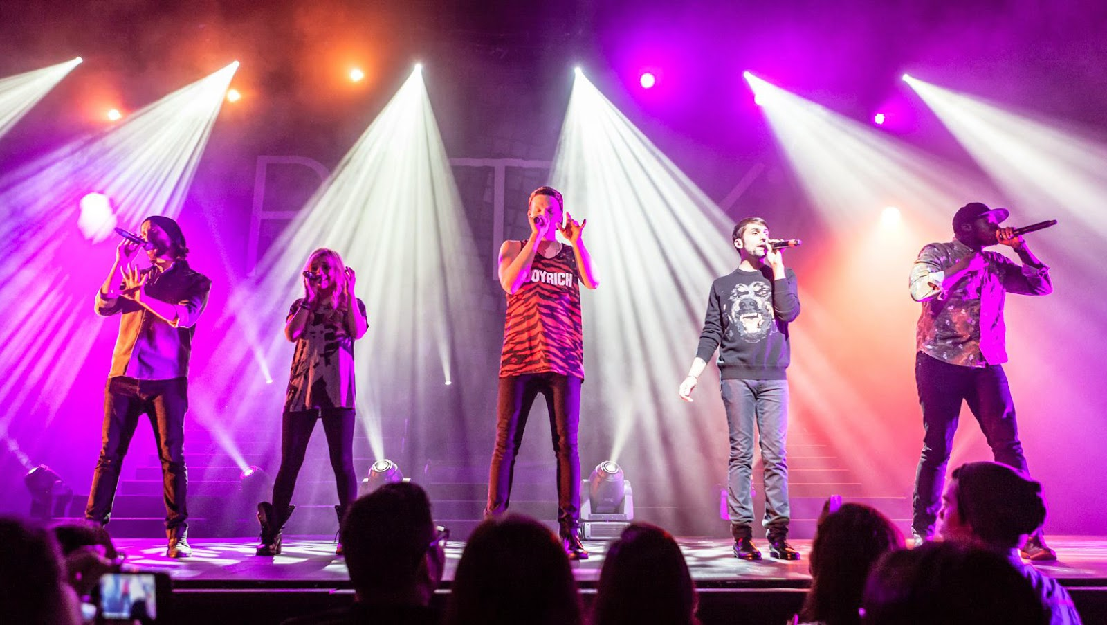 Pentatonix Live in Singapore Asia