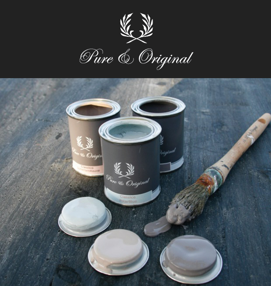 I love Pure and Original paint! (aff)