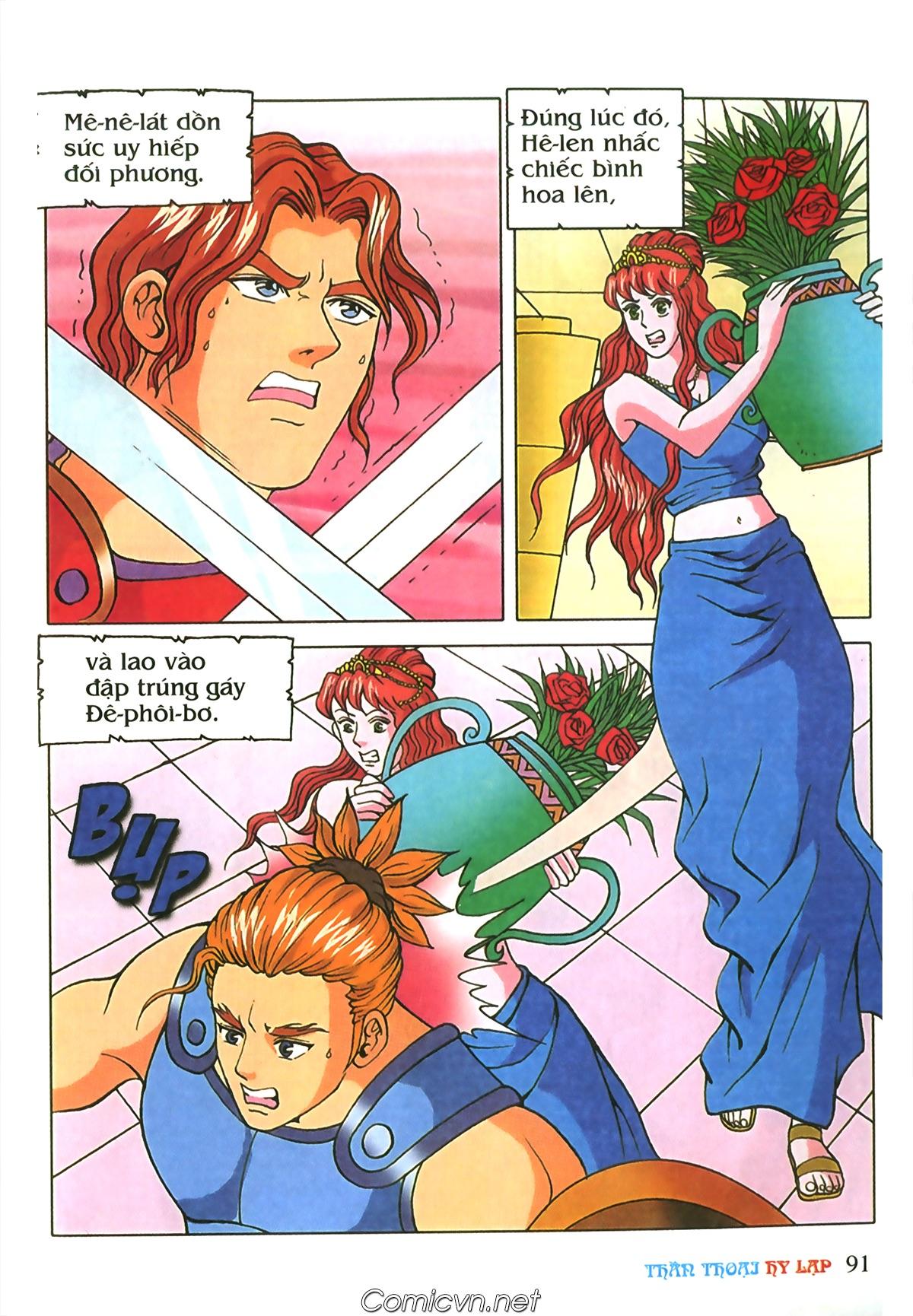 Thần Thoại Hy Lạp Màu - Chapter 69: Thành Troy thất thủ - Pic 21