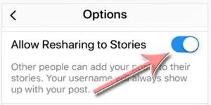 repost postingan ke Stories Instagram