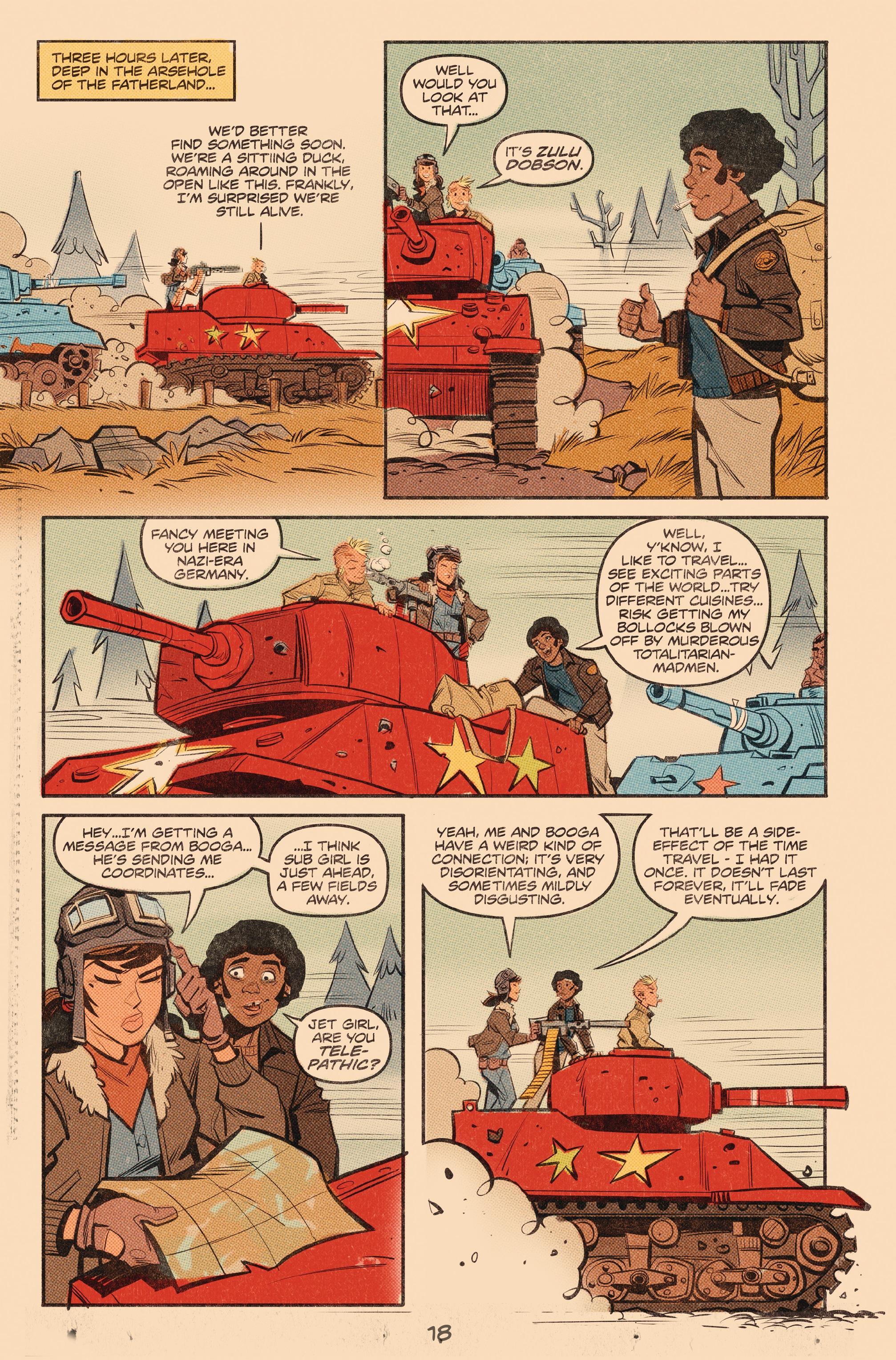 Read online Tank Girl: World War Tank Girl comic -  Issue #3 - 19