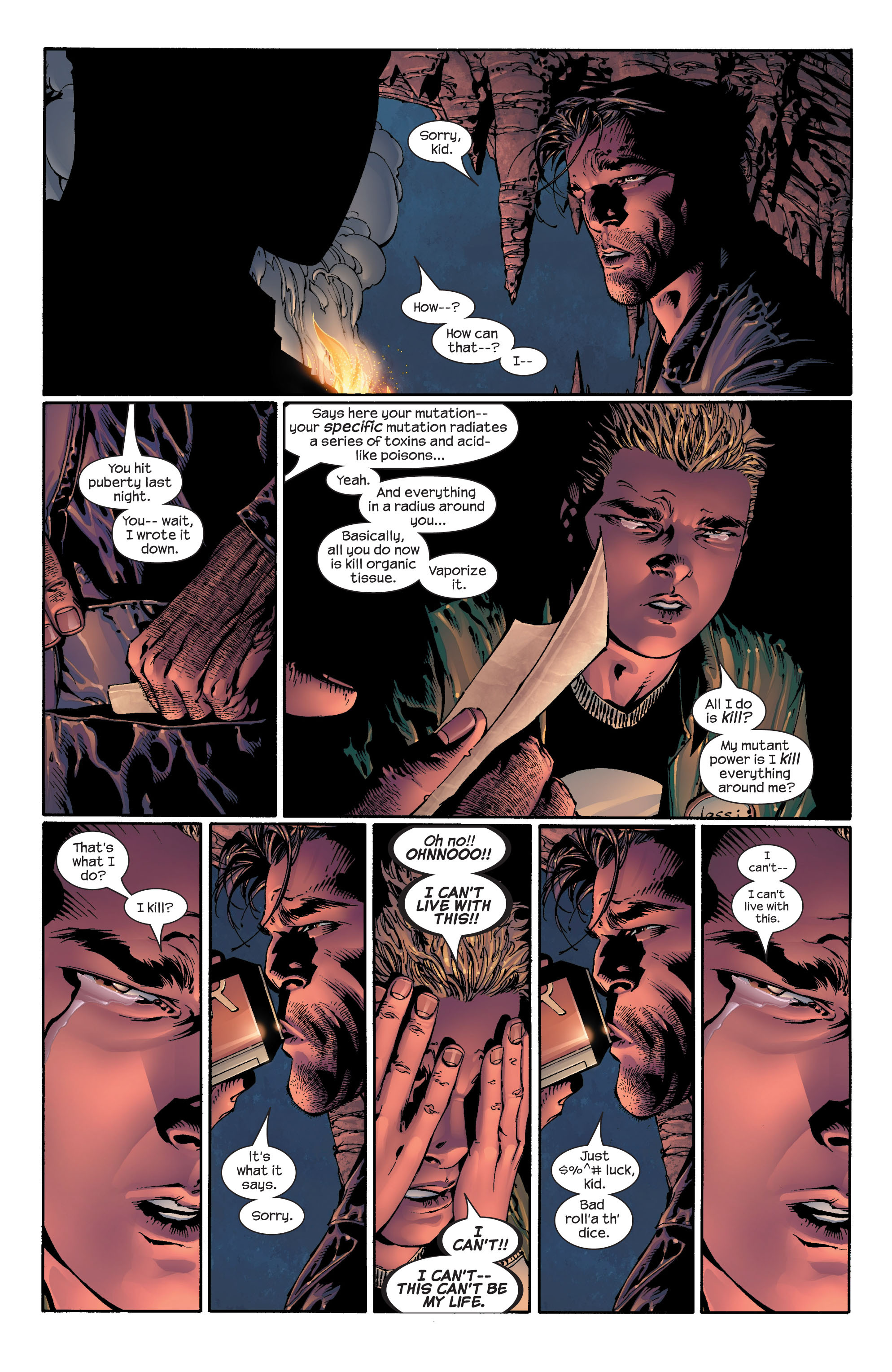 Read online Ultimate X-Men comic -  Issue #41 - 17