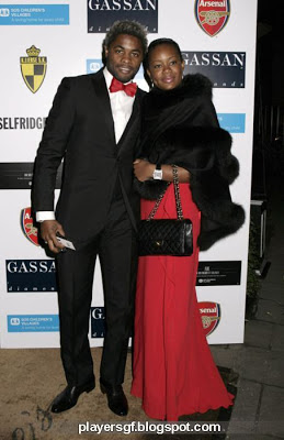 Alex Song and Olivia