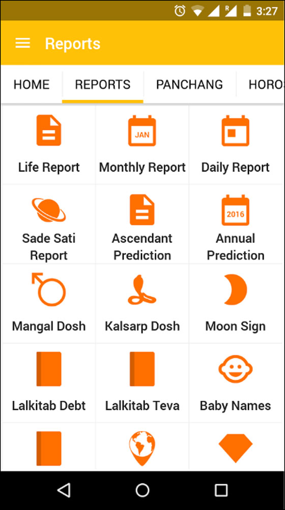 Get free astrology reports instantly in the new AstroSage Kundli 7.