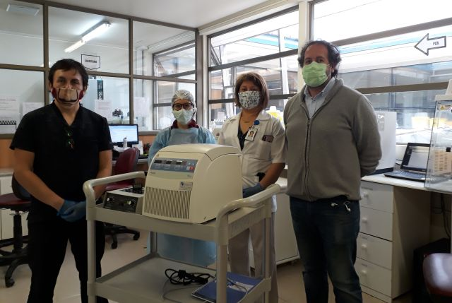 ULagos facilita equipos al Hospital Base de Osorno