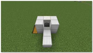 Minecraft 高速トロッコ輸送 アイテム荷降ろし駅 作り方③