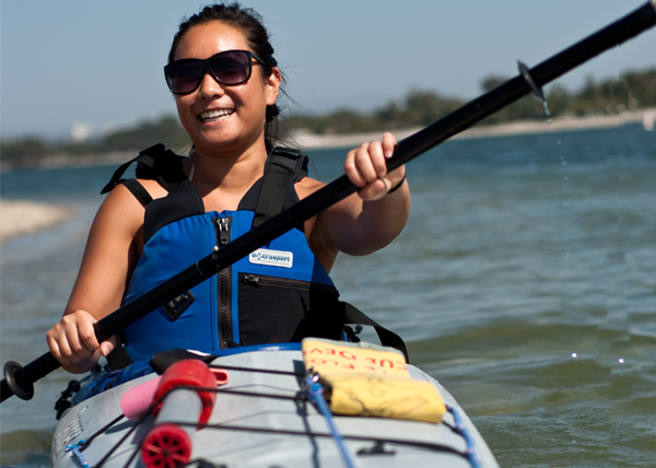 Earn college credit while kayak!