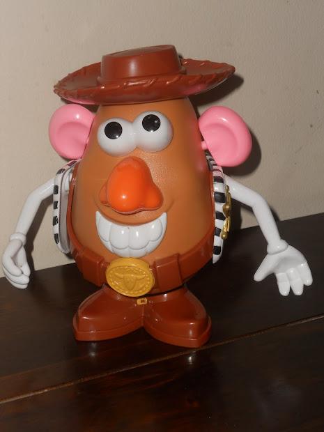 Potato Head Woody And Buzz Light Year