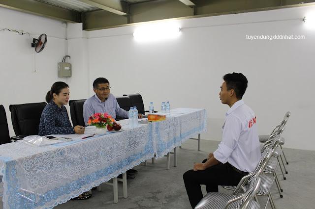 phỏng vấn xuất khẩu lao động Nhật Bản tại công ty TTC việt nam