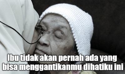 Gambar Kata - Kata Tentang Ibu Sedih, Menyesal, Penyesalan, Mendoakan Ibu