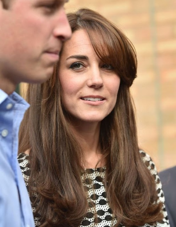 The Duke And Duchess Of Cambridge Visited Harrow College