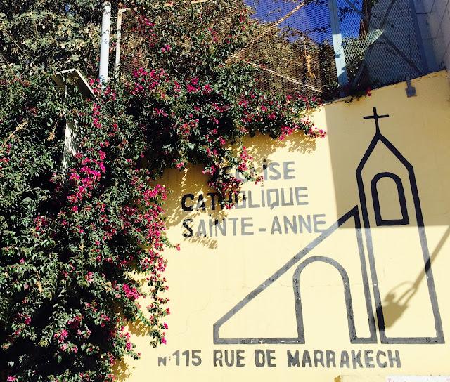 Koścół Église Sainte-Anne w Agadirze