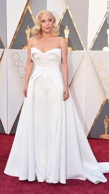 Lady Gaga Oscars 2017
