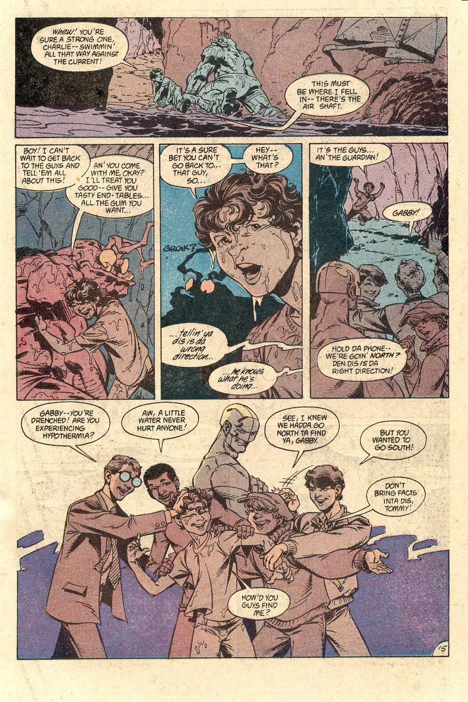 Read online Secret Origins (1986) comic -  Issue #49 - 20