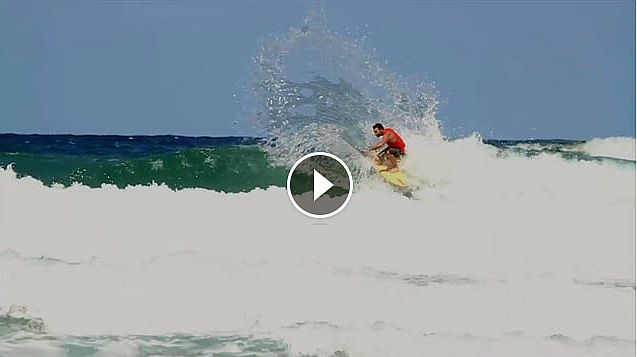 PARKO burleigh heads single fin classic 2017 final