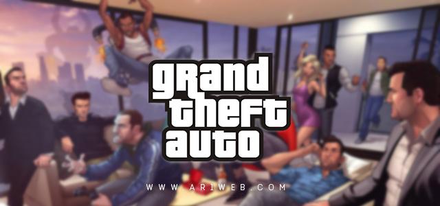 خط Grand Theft Auto Font