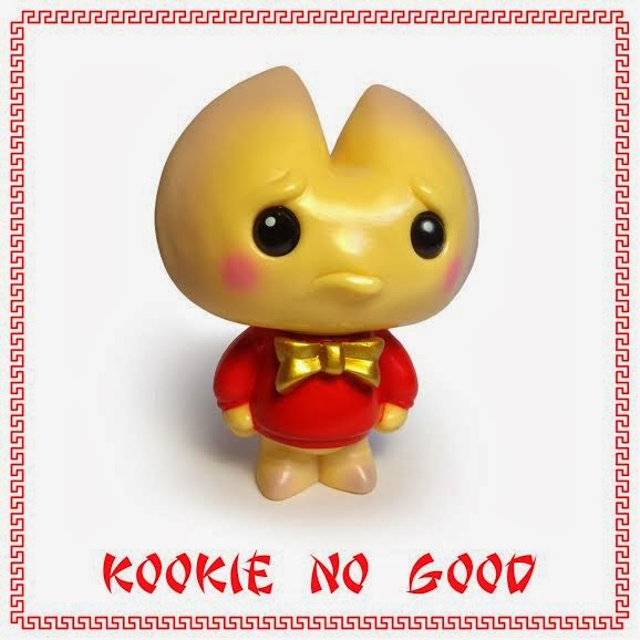De Korner Exclusive Chinese New Year Edition Kookie No Good Vinyl Figure by Scott Tolleson